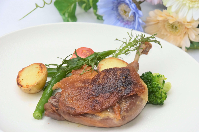 poulet confit